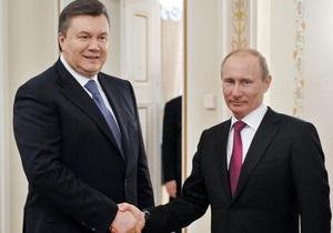 Не с пустыми руками. Сегодня Янукович отправляется в Москву