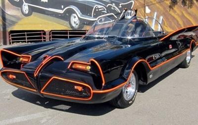 Первый автомобиль Бэтмена продан с аукциона за 137 тысяч долларов