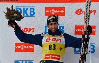 Біатлон: Фуркад закріпив успіх в Остерсунді перемогою в гонці переслідуванн