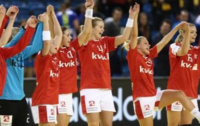 Гандбол: Украинки стартуют на чемпионате Европы с поражения от Дании