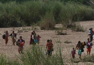 Более 10 тысяч человек бежали из Мьянмы в Таиланд