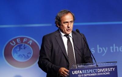 Платини: Имидж FIFA в очень негативном свете, поэтому Блаттеру стоит уйти
