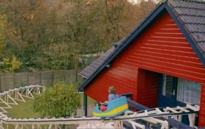 Продавцы дома в Нидерландах построили в нем американские горки