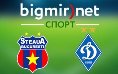 Стяуа - Динамо Київ 0:2 Онлайн-трансляція матчу Ліги Європи