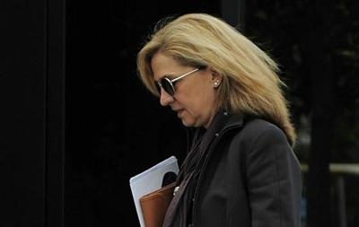 Сестру короля Іспанії хочуть оштрафувати на 170 тисяч євро