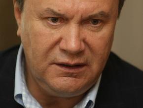 Янукович: Она допросится, что люди проголосуют в первом туре, и на этом выборы закончатся
