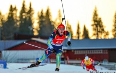 Биатлон: Мужская сборная Украины финишировала девятой в эстафете
