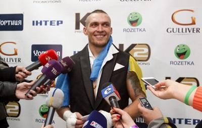 Усик: Хотів би побоксувати з Володимиром Кличком