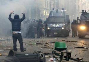 В Риме манифестация студентов переросла в массовые беспорядки