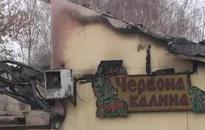 В Киеве ресторан забросали  коктейлями Молотова