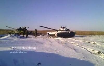 Сепаратисты сняли на видео, как попали под обстрел