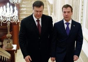 Янукович заявил о подготовке нового стратегического договора с Россией