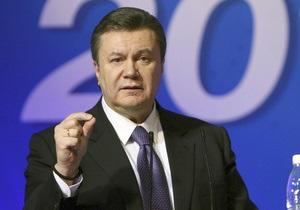 Янукович намерен вдвое сократить систему разрешений и лицензий для малого и среднего бизнеса