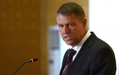 Новий президент Румунії виступив за санкції проти Росії