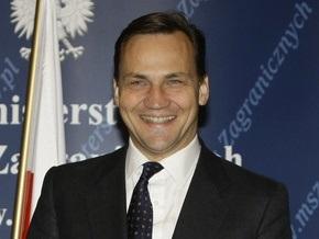 Министр иностранных дел Польши прилетел в Винницу