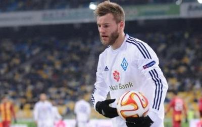 Фоменко: Думаю, Ярмоленко может стать одним из лучших футболистов мира
