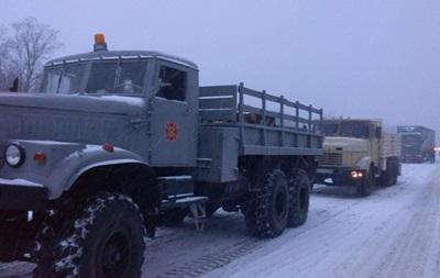 Из-за непогоды ограничено движение в двух областях Украины