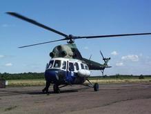 В Крыму разбился вертолет