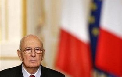 Президент Італії в новорічному зверненні оголосив про швидку відставку