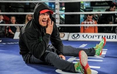 Александр Усик: Я болею за Динамо Киев и искренне радуюсь успехам команды