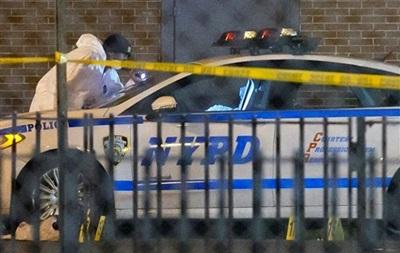 В Нью-Йорке расстреляли двух полицейских