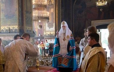 Патриарх Филарет поздравил украинцев с Рождеством Христовым