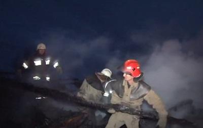 Во Львовской области на Рождество сгорела церковь