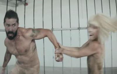 Шайа Лабаф и Мэдди Циглер в новом клипе Sia
