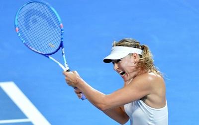 Шарапова не пустила украинскую теннисистку в финал турнира в Брисбене