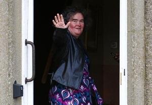 Сьюзан Бойл встретила у себя дома грабителя