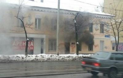 В Харькове редакцию газеты забросали коктейлями Молотова
