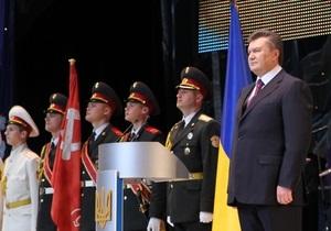 Литвин подписал закон о красных флагах. Слово за Януковичем