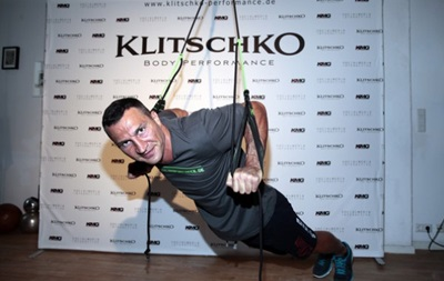 Владимир Кличко представил свою новую программу тренировок