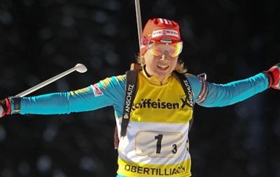 Біатлон: Сьогодні в Німеччині відбудеться естафетна гонка серед жінок