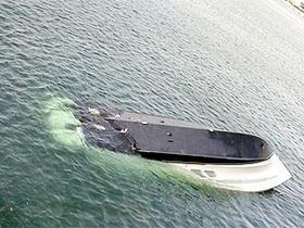 КП: В Мариуполе перевернулась яхта с московскими туристами