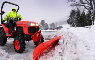 Британію засипало снігом