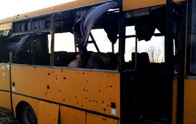 Снаряд Града взорвался в 12-15 метрах от автобуса под Волновахой – ОБСЕ