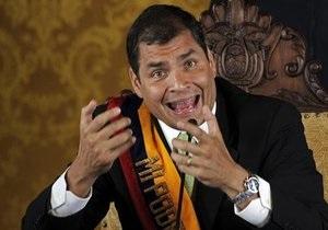 Президент Эквадора назвал ответственных за попытку переворота в стране