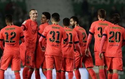 Эльче - Барселона 0:4 Видео голов матча Кубка Испании