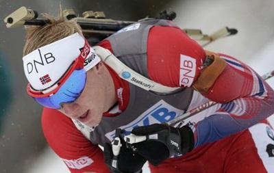 Биатлон: Норвежец Бе выиграл спринт в заснеженном Рупольдинге