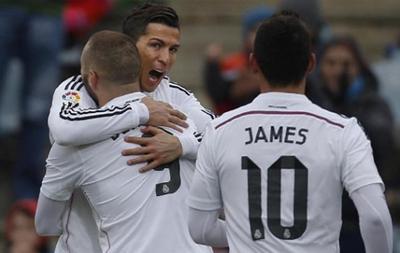 Роналду дублем в ворота Хетафе помог Реалу добыть разгромную победу