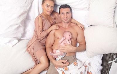 Владимир Кличко назвал свою дочь в честь бабушки и океана
