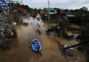 Число жертв шторма Ваши на Филиппинах возросло до 539 человек
