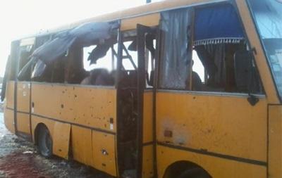 Водій  автобуса смерті : нас обстріляли з боку Волновахи