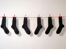 Трое одесситов украли носков на 125 тысяч гривен