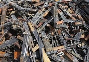Пограничники - оружие - контрабанда - Украинские пограничники стали задерживать больше оружия