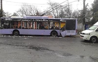 Минобороны: Остановку в Донецке обстреляли сепаратисты из жилых районов