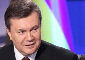 Янукович наградил одного из руководителей Землячества Донбассовцев в Москве