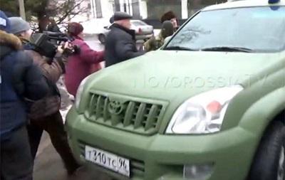 Номер джипа сепаратистов принадлежит пиарщику Ахметова - СМИ