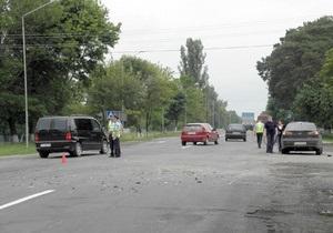 На Волыни произошло ДТП с участием народного депутата